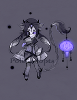 [CLOSED] adopts auction9 - Dead Light by Polis-adopts