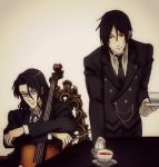 The Chevalier and The Demon Butler by Alb-art