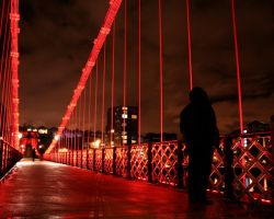 Glasgow At Night I by ELogan-Photography