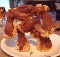 Mabinogi RiceCrispies Golem by animegal123