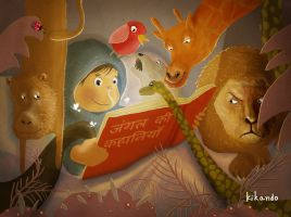 stories from the jungle by kikando