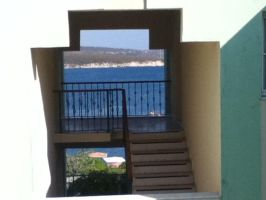 stairs to the sea by littlebluewildfire