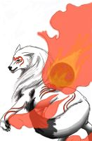 New Okami by EgyptianDragon1