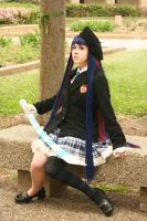In the Schoolyard by JanvierCosplay