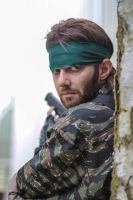 Metal Gear Solid 3 - Naked Snake cosplay #2 by Petchy-mon