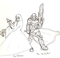 Fremen and Sardaukar by ObsidianOrder