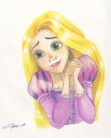 Rapunzel by Rainbubbles1011