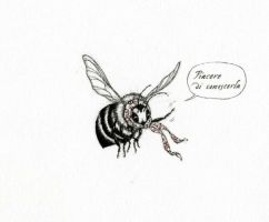 The Florentine Bee by Himmapaan