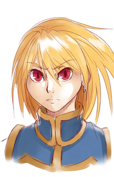 HxH Kurapika Sketch by Kanokawa