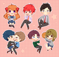 Gekkan Shoujo Nozaki-kun by Blobical