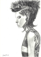 Lisbeth Salander by Harkaiden