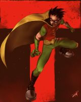 Robin by DanHowardArt