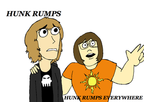 Hunk Rumps Everywhere by IamaCutie