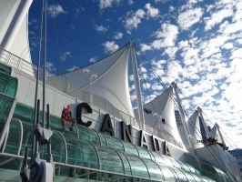 Canada Place Perch by SpenceOlson
