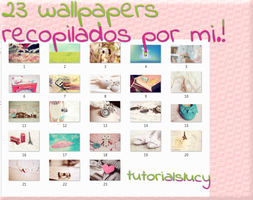 23 wallpapers by tutorialslucy