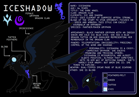 Iceshadow Ref Sheet by liighty