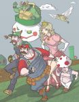 The Colorful Mushroom Kingdom by davidstonecipher