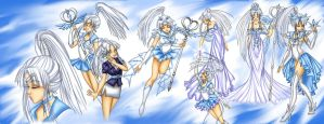 Sailor Crystal Forms by nicolem8890
