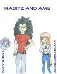 Raditz and Ame - It's a Saiyan Thing by AkurnaSkulblaka