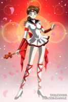 Sailor Ruby for SailorMars98 by SailorSunPhoenix