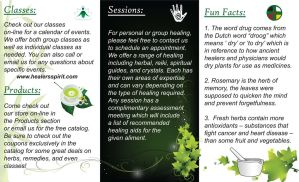 Sample Brochure Side Two by clarsen88