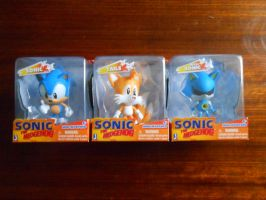 Sonic, Tails and Metal Sonic Mini Morphed by BoomSonic514