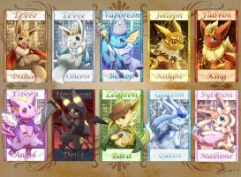 Eeveelution by ffxazq