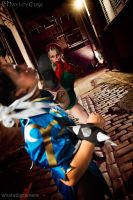 Street Fighter: Vs Chun Li by HayleyElise