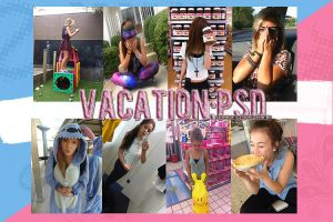 Vacation;PSD by ComeAndGetItWithLove