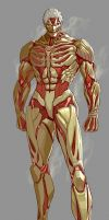 +Armored titan - remake by DqueM-7