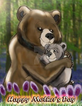 Winnie the Pooh and his Mother by imaginativegenius099
