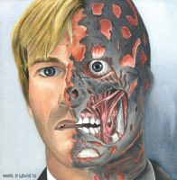 Two Face canvas - For Sale by Marc137