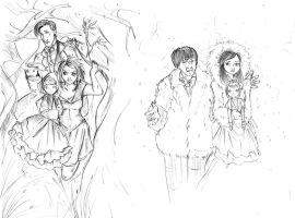 Confusion with companions sketch by Miss-Alex-Aphey