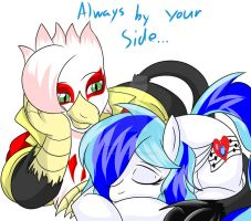 Always by your side... by FlairNightz
