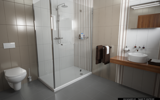 Bathroom by slographic