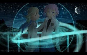 SE :: Crona and Maka - Your Guardian Angel by Pelissa