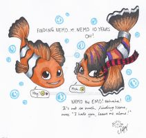 Nemo the Emo by erondagirl