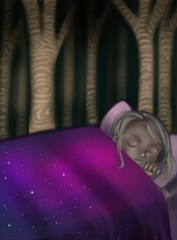 Sleeping in the Woods by Areyouonfireyet