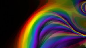 fractal rainbow stock by stormymay888