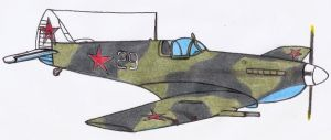 Spitfire LF IXE  USSR in prog by DingoPatagonico