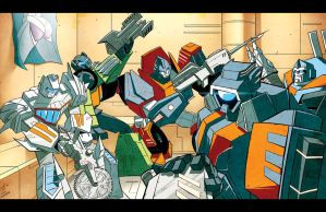 Fall of Cybertron WRECKERS by dcjosh