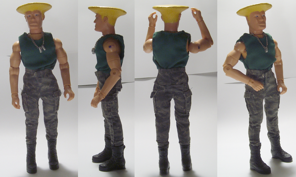Guile Mego by Lee-At-Arms