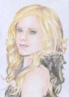 Avril Lavigne in Colour by ChazyChaz