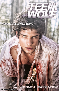 Teen Wolf Comic - Volume 1: Wolf Moon - Cover by Cammerel