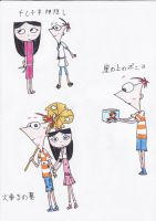 PnF Crossover- Studio Ghibli Part 3 by MaiMaiLim