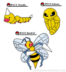 Pokedex 13-15 by Nintendrawer