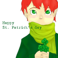 Belated St. Patrick's day by Schismatic-Epitome