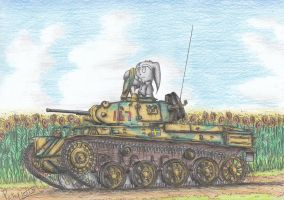 Stridsvagn M/40L Tank by Patoriotto