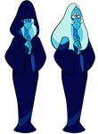 [STEVEN BOMB 5 SPOILERS] Blue Diamond Vectors by DaviDark-TheGunter