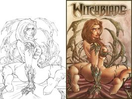 WITCHBLADE by Saul Morales Pencils n color by Dany-Morales